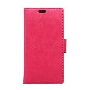 Rose koženkové puzdro Samsung Galaxy Xcover 3 - 1
