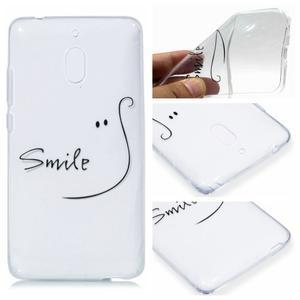 Patt silikónový kryt na mobil Nokia 2.1 - úsmev - 1