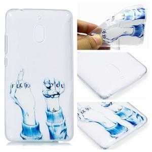 Patt silikónový kryt na mobil Nokia 2.1 - neslušné gesto - 1