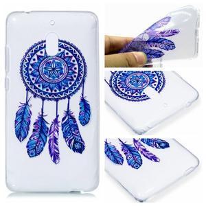 Patt silikónový kryt na mobil Nokia 2.1 - modrý lapač snov - 1