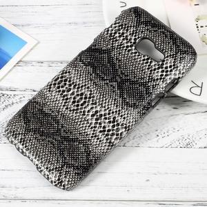 Hardy plastový obal pre Samsung Galaxy A3 (2017) - hadia koža - 1