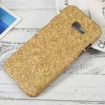 Hardy plastový obal pre Samsung Galaxy A3 (2017) - korek - 1/3