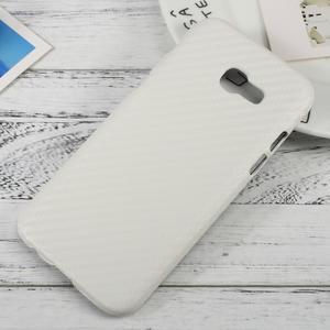 Hardy plastový obal pre Samsung Galaxy A3 (2017) - biely karbon - 1