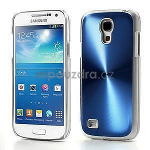 Metalický obal na Samsung Galaxy S4 mini - modrý - 1