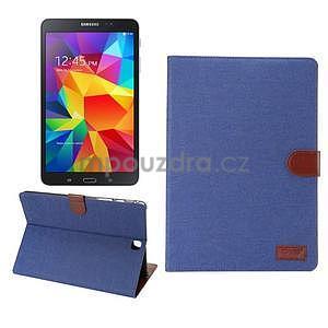 Jeans puzdro pre tablet Samsung Galaxy Tab A 9.7 - modré - 1