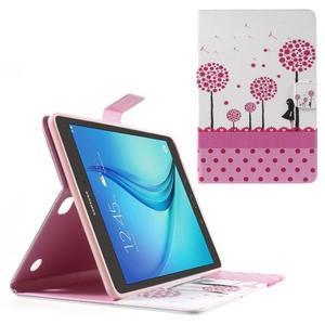 Ochranné puzdro pre Samsung Galaxy Tab A 9.7 - dievča a púpavy - 1