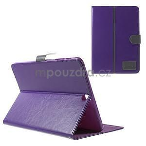 Flatense štýlové puzdro pre Samsung Galaxy Tab S2 9.7 - fialové - 1