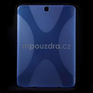 X-line gélový kryt pre Samsung Galaxy Tab S2 9.7 - modrý - 1