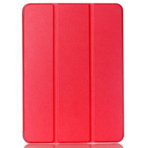 Trifold polohovateľné púzdro pre Samsung Galaxy Tab S2 9.7 -  červené - 1