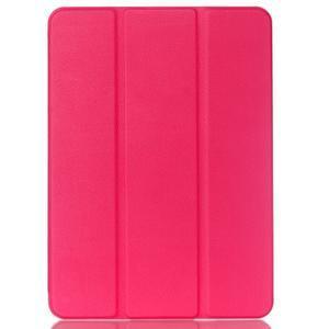 Trifold polohovateľné púzdro pre Samsung Galaxy Tab S2 9.7 - rose - 1