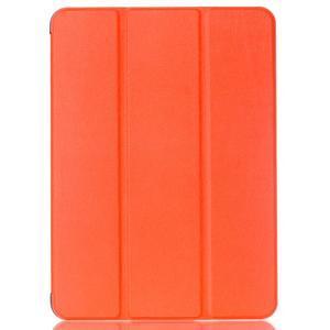 Trifold polohovateľné púzdro pre Samsung Galaxy Tab S2 9.7 -  oranžové - 1