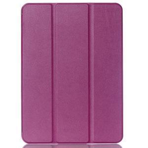Trifold polohovateľné púzdro pre Samsung Galaxy Tab S2 9.7 -  fialové - 1