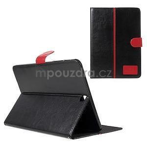Flatense štýlové puzdro pre Samsung Galaxy Tab S2 9.7 - čierne - 1