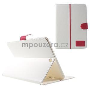 Flatense štýlové puzdro pre Samsung Galaxy Tab S2 9.7 - biele - 1