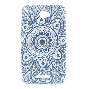 Gelový obal na Sony Xperia E4 - umělecká květina - 1
