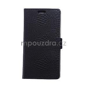 Puzdro s krokodílím vzoromna Sony Xperia E4 - čierne - 1