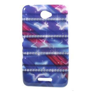 Gelový obal na Sony Xperia E4 - snové diamanty - 1