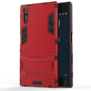 Guard odolný obal pre mobil Sony Xperia XZ - červený - 1