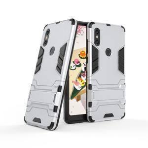 Guard odolný hybridný obal na mobil Xiaomi Mi Mix 2s - strieborný - 1