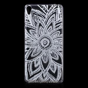 Ultratenký gélový obal pre Sony Xperia E5 - henna - 1