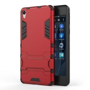 Outdoor odolný obal pre mobil Sony Xperia E5 - červený - 1