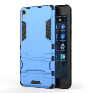 Outdoor odolný obal pre mobil Sony Xperia E5 - svetlomodrý - 1