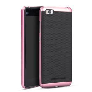 Paky odolný obal na mobil Xiaomi Mi4c - růžový - 1