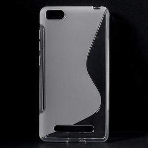S-line gelový obal na mobil Xiaomi Mi4c/Mi4i - transparentní - 1