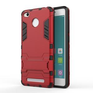 Outdoor odolný obal pre Xiaomi Redmi 3 Pro - červený - 1