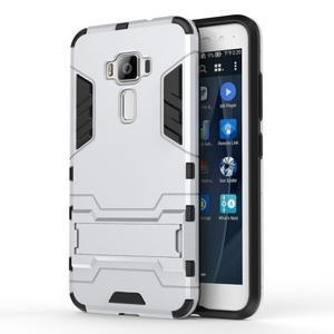Odolný obal pre mobil Asus Zenfone 3 ZE520KL - strieborný - 1