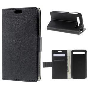 Peňaženkové puzdro pre mobil BlackBerry Classic - čierné - 1