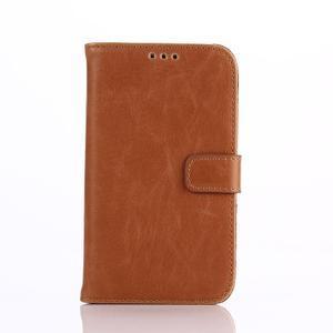 Diary pouzdro na mobil BlackBerry Classic - hnědé - 1