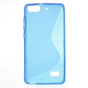 S-line gelový obal na mobil Honor 4C - modrý - 1