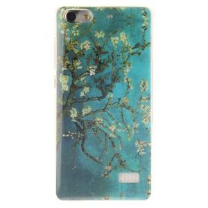 Gelový obal na mobil Honor 4C - kvetoucí strom - 1