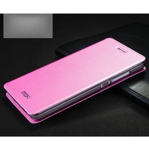 Vintage stylové pouzdro na mobil Honor 4C - růžové - 1