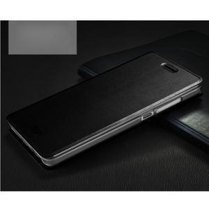 Vintage stylové pouzdro na mobil Honor 4C - černé - 1