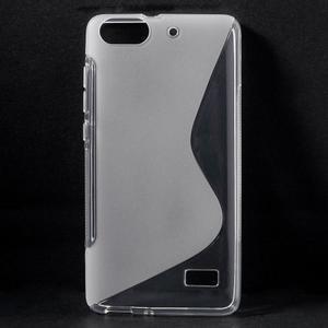 S-line gelový obal na mobil Honor 4C - transparentní - 1