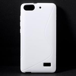 S-line gélový obal pre mobil Honor 4C - biely - 1
