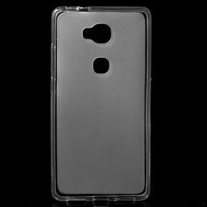 Matný gelový obal na mobil Honor 5X - transparentní - 1