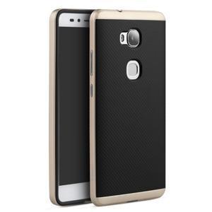 Odolný kryt na mobil Honor 5X - zlatý - 1