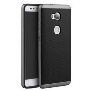 Odolný kryt na mobil Honor 5X - šedý - 1