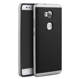 Odolný kryt na mobil Honor 5X - stříbrný - 1
