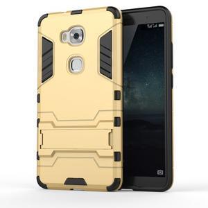 Outdoor odolný kryt pre mobil Honor 5X - zlatý - 1