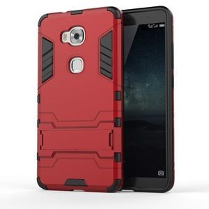 Outdoor odolný kryt pre mobil Honor 5X - červený - 1