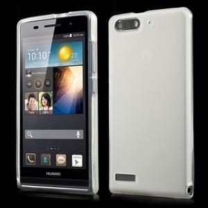 Matné gélové puzdro na Huawei Ascned G6 - biele - 1