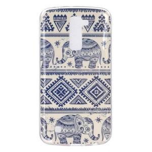 Fony gelový obal na mobil LG K10 - sloni - 1