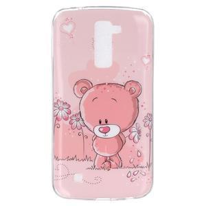 Fony gélový obal pre mobil LG K10 - medvedík - 1