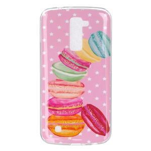 Fony gelový obal na mobil LG K10 - makronky - 1