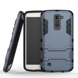Odolný kryt pre mobil LG K10 - tmavomodrý - 1