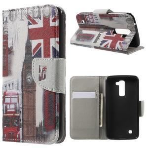 Wall peňaženkové puzdro pre LG K10 - Big Ben - 1